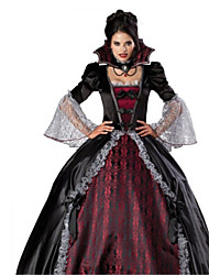 cheap -Vampire Cosplay Costume Women's Halloween Carnival Festival / Holiday Polyester Women's Carnival Costumes / Petticoat
