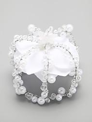 cheap -Women's Crystal Imitation Pearl Alloy Tiaras Wedding Party