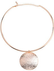 cheap -Women's Pendant Necklace Alloy Golden Silver Necklace Jewelry For Party Daily Casual