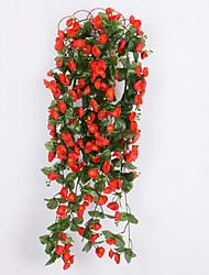 Недорогие -Шелк Свадебные цветы Лоза Цветы на стену Лоза