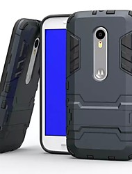 cheap -Case For Motorola Shockproof / with Stand Back Cover Armor Hard PC