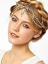 cheap -Women's Headbands For Wedding Party Daily Casual Alloy
