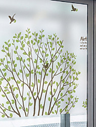 abordables -Film de fenêtre et autocollants Décoration Moderne Décoration artistique PVC / Vinyl Autocollant de Fenêtre