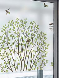 cheap -Window Film & Stickers Decoration Contemporary Art Deco PVC / Vinyl Window Sticker