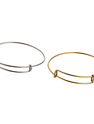 cheap -5pcs Bracelet Bangles Ladies Alloy Bracelet Jewelry Golden / Silver For Daily Casual
