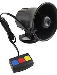 Недорогие -scolour Бару ян универсальный 3 тональный сигнал мобил keamanan keras Sirene tanduk 12 V DC Панас