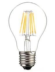cheap -HRY 1pc 6 W LED Filament Bulbs 560 lm E26 / E27 A60(A19) 6 LED Beads COB Decorative Warm White Cold White 220-240 V / 1 pc / RoHS