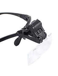 Недорогие -Высокое разрешение LED Погода устойчивы Fogproof Общий Большой угол Гарнитура 10 25 mm Монокль Лупы пластик Металл Алюминий