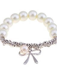 cheap -Women's Charm Bracelet Imitation Pearl Bracelet Jewelry Silver / Golden For Christmas Gifts Party Daily Casual