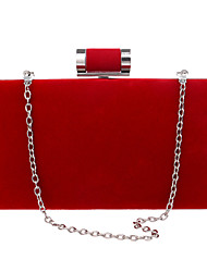 cheap -Women's Bags Polyester Evening Bag for Wedding / Event / Party / Formal Black / Red / Violet