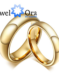 cheap -Women's Band Ring Gold Golden Titanium Steel Platinum Plated Gold Plated Ladies Fashion Party Jewelry