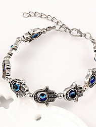 cheap -Fashion Women European Style Evil Eye Hand Bracelet(Random Color)