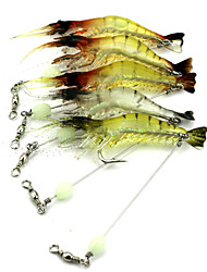cheap -1 pcs Others Craws / Shrimp Floating Bass Trout Pike Bait Casting Hard Plastic