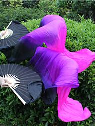 cheap -Belly Dance Wand Tie Dye Women's Unisex Training Performance Elastic Silk-like Satin