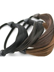 Недорогие -Резинка и Связи Аксессуары для волос Синтетические волосы парики Аксессуары Жен. штук 11-20cm см