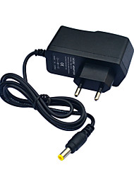 cheap -AC110~240V to DC12V 1A Power Supply Adapter Converter Transformer - Black (EU Plug)