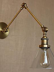cheap -Rustic / Lodge Swing Arm Lights Metal Wall Light 40W / E26 / E27