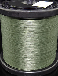 cheap -PE Braided Line / Dyneema / Superline Fishing Line 1000M / 1100 Yards PE 100LB 80LB 70LB 0.1 ~ 0.5 mm Bait Casting Spinning Freshwater Fishing / 65LB / 60LB / 50LB / 45LB / 40LB