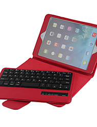 cheap -High Quality Leather Flip Folding Case Bluetooth Keyboard for iPad Mini 4 7.9 inch (Assorted Colors)