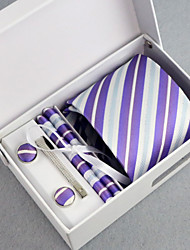cheap -Other Vintage Party Work Casual Purple Other Wedding Tie Bar