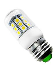 billige -JIAWEN 1pc 2.5 W 150-200 lm E26 / E27 LED-kolbepærer T 27 LED Perler SMD 5050 Varm hvid 220-240 V