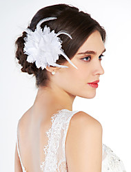 cheap -Crystal / Fabric Tiaras / Flowers with 1 Wedding / Special Occasion / Party / Evening Headpiece