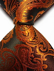 cheap -Men's Party / Work / Basic Necktie - Paisley Print