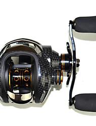cheap -SHISHAMO 6.3:1, 18 Ball Bearings One Way Clutch Baitcasting Reel Fishing Reel, Right Handed Carp Fishing Reel