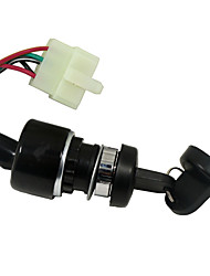 cheap -Motorcycle ignition accessories 5 Pin Wire Ignition Key Switch for UTV Go Kart ATV 150 250CC
