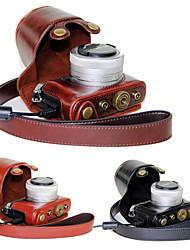 Недорогие -dengpin® пу кожаный чехол для камеры сумка крышка с плечевым ремнем для Panasonic Lumix gm5 gm2 gm1s (ассорти цветов)