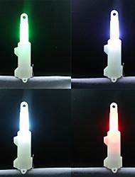 Недорогие -4шт батарея Освещение для рыбалки Светодиодные ночники Светодиодная лампа Белый Красный Синий Зеленый Пластик Водонепроницаемый Рыбалка 200-500 m