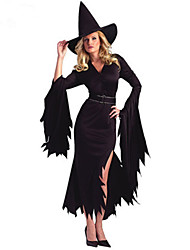 cheap -The Witch Put Vampire Evil Pirates Big Yards Halloween Party Role Uniform Cos Stage Performance Clothing