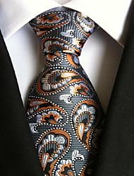 abordables -Homme Soirée / Travail / Basique Cravate - Imprimé, Graphique