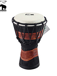 cheap -Sf Star of Africa  Indonesia Produce 7-Inch Carving Djembe-DPD30DH