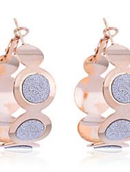 cheap -Women's Hoop Earrings Earrings Jewelry Silver / Golden For Party Daily Casual