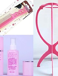 cheap -A Three-Piece Wig Care Tools