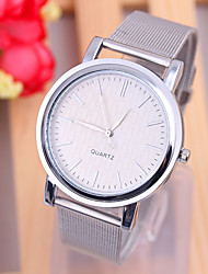 cheap -Women's Wrist Watch Quartz Silver / Gold Casual Watch Analog Ladies Fashion Minimalist - Silver Golden One Year Battery Life