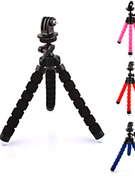 cheap -360 degree rotate octopus shape sponge tripod adapter for gopro hero 4 2 3 3 sj4000 5000 6000 xiaomi yi