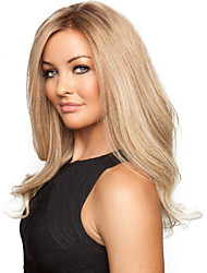 cheap -Synthetic Wig Wavy Wavy Wig Blonde Long Blonde Synthetic Hair Blonde