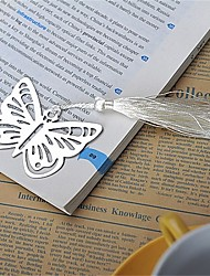 cheap -Wedding / Anniversary / Engagement Party Stainless Steel Bookmarks & Letter Openers Garden Theme / Asian Theme / Butterfly Theme - 1 pcs