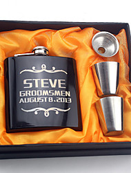 cheap -Personalized Stainless Steel Barware & Flasks / Hip Flasks Bride / Groom / Bridesmaid Wedding / Congratulations