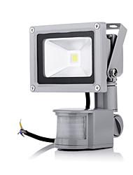 cheap -10W 800lm LED Floodlight Outdoor Lighting 1 leds High Power LED Sensor Warm White Cold White AC 85-265V