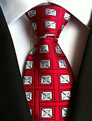 cheap -Men's Party / Work / Basic Necktie - Geometric Print