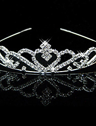 cheap -Alloy Tiaras with 1 Wedding / Special Occasion Headpiece