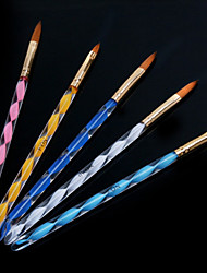 cheap -1Set Helical Nail Art Acrylic Pen Carving Crystal Pen Brush Pen (5pcs/set)