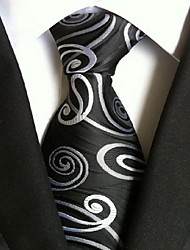 cheap -Men's Party / Work / Basic Necktie Print