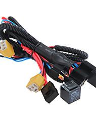 Недорогие -универсальный разъем жгута проводов усилителя фар h4 / 9003 12В, 40а, диагностический прибор