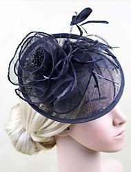 cheap -Women Fabric Headband , Party Feather / Satin Headpiece