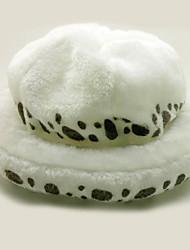 cheap -Hat / Cap Inspired by One Piece Trafalgar Law Anime Cosplay Accessories Hat Polar Fleece Men's Women's Hot Halloween Costumes