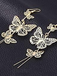 cheap -Women's Drop Earrings Dangle Earrings Ladies Earrings Jewelry Silver / Gold For